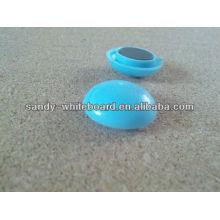 Kunststoff Magnetknopf, Kunststoff beschichtet Magnet, runde Magnetknopf, Whiteboard Zubehör, 20mm XD-PJ201-1