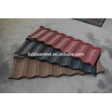 Long Life Color Sand Stone Coated Roof Tile Color Aluminium Roofing Sheet