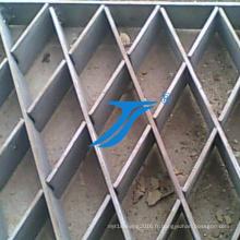 Grille en acier à petites grilles