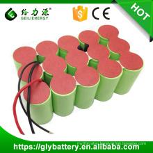 High capacity Ni-CD 18V 3000mAh/4000mah/5000mah D size rechargeable battery pack
