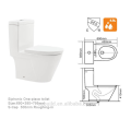 CB-9523S Western Het baño de cerámica sifón UPC inodoro de una pieza