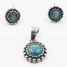 China Wholesale 316L Opal Jewelry Sets Earrings Pendant