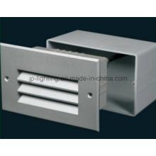 Aluminio LED empotrada de pared IP65 (819307)