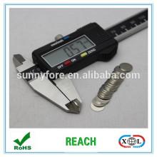 D10 * 0,6 mm dünner Scheibe Form NdFeB Magnet
