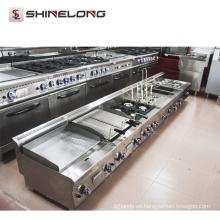 La fábrica suministra la cocina de la serie 600 La plancha eléctrica de Teppanyaki