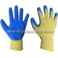 Luvas de trabalho protetor de calor com revestimento do látex (LK3022)