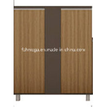 Armoire basse avec portes (FOH-KNW102)