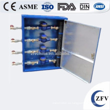 Medidor de agua de hierro fundido exterior XDO proteger caja