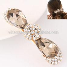 2016 latest design crystal rhinestone for girls fancy wedding hair pins
