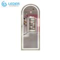 Espelho de beleza LEDER com luzes