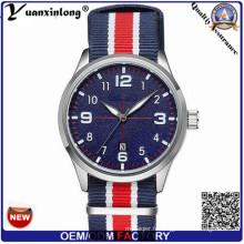 Yxl-862 Mens Montres Top Marque De Luxe Militaire Hommes Toile et Nato Wristband Quartz Montre-Bracelet