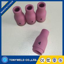 Tig bocal de cerâmica para tig torção de soldagem tig 13N08