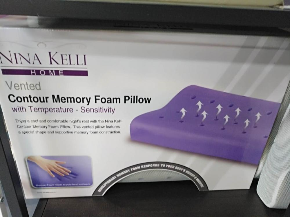 Memory Foam Pillow with Hole
