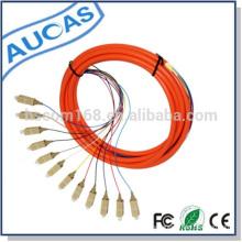 Fabricante de cable de cable de cable de fibra óptica y cable de cable de conexión con SC LC FC ST FC venta caliente