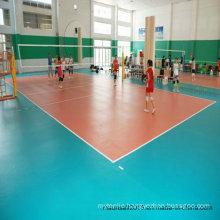 China Professional Sports Volleybal PVC Flooring