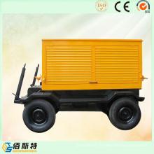 Ensembles de production d'énergie électrique à moteur diesel 375kVA300kw de remorque