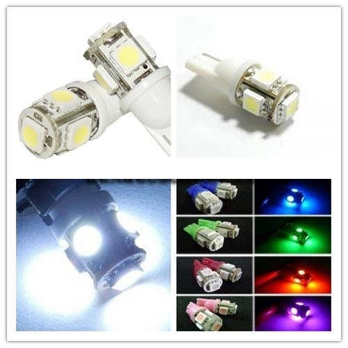 NITOYO UNIVERSAL 24V T10 5050SMD LED PARKING LIGHT BULBS FOR TRUCKS OFFROAD 4X4