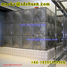hot sale 50CBM SS304 assembled stainless steel water storage tank