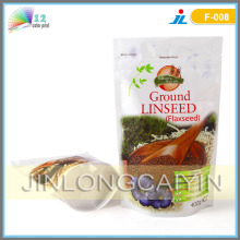 Stand up Bag for Food with Zipper