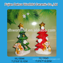 2015 new style polyresin ornament with monkey design for christmas decor
