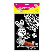 Pascua Decoración feliz Pascua Fuzzy Poster