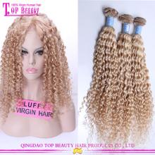 7A высокого качества Реми человеческие волосы 100% фигурные европейских блондинка девственница