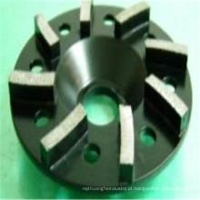 rodas de concreto de turbo preto