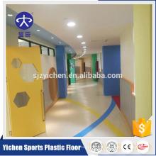 Le vinyle professionnel de plancher de rouleau de PVC pour la pièce de la maternelle et des enfants