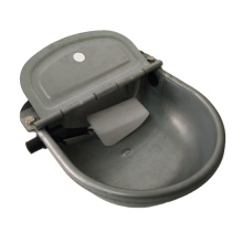 custom galvanized steel metal cattle drinking bowl with plastic float