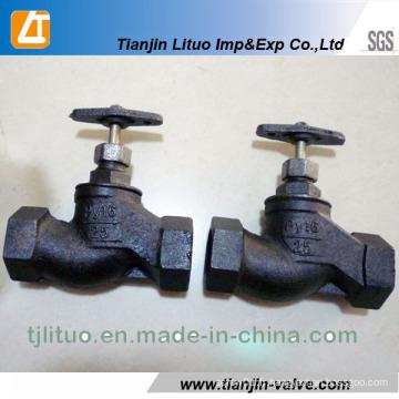Dessin standard russe de valve de GOST de fonte de fonte PN16 15kch18p