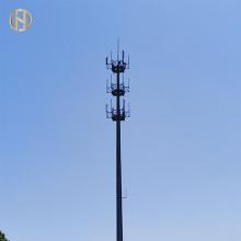 Poste de comunicação de micro-ondas de aço galvanizado