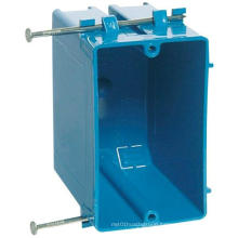 1 Gang Blue PVC Electrical Switch and Outlet Wall Socket Box  B120A single Plastic receptacle box smart touch surface