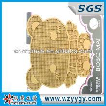 ECO Bear Shaped Soft PVC/Soft Rubber Coaster