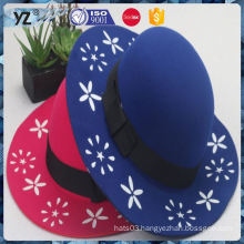 Latest arrival long lasting fashion wool felt women hats Fastest delivery