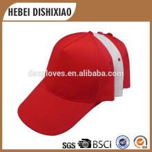 Wholesale baseball cap cotton 6 panel hat baseball cap with logo cap factory supply