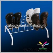 Estantería de equipos de servicio para calzado stand in advertiisng
