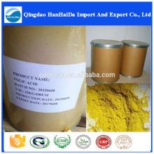Acide folique de haute pureté (vitamine B9) 59-30-3 avec le meilleur prix!
