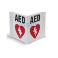 AED CPR First Aid Signs / Resuscitation AED Wall Signs / AED Defibrillator Wall Signs