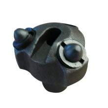 Custom low alloy steel three / six / seven hole drill bit of Soluble Glass Precision Casting for mining