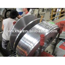 froid et acier de GI en acier doux acier ligne de refendage machine de rouleau
