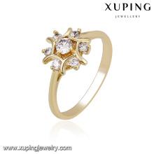 14219 xuping ring jewelry women gold rings design for women rings