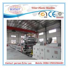 Folha de mármore artificial do PVC que faz a máquina