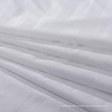 Tecido de tira cetim branco para cama (wsf-2016006)