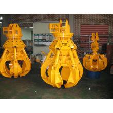 excavator scrap grapple, material for Hyundai excavator