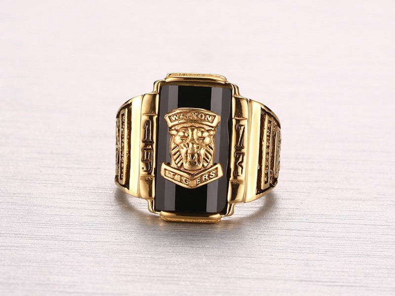 Mens Gold Champion Ring
