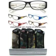 Señoras moda lentes de lectura de plástico (MRP21664)