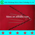 Высококачественный Алюминий плакированный стальной проволоки или оцинкованной стальной проволоки парень сцепление тупик правой рукой направление для ADSS кабель