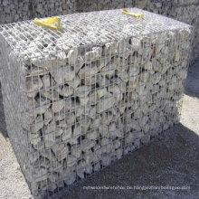 Galvanisierter Gabionen-Korb / schwerer sechseckiger Maschendraht