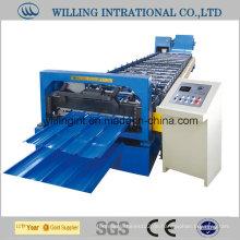 Preiswerte farbbeschichtete Stahlwand-Rollforming Machinery Making