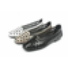 Verão sapatos baixos a oca out mulheres loafers sapatos casuais cores personalizadas